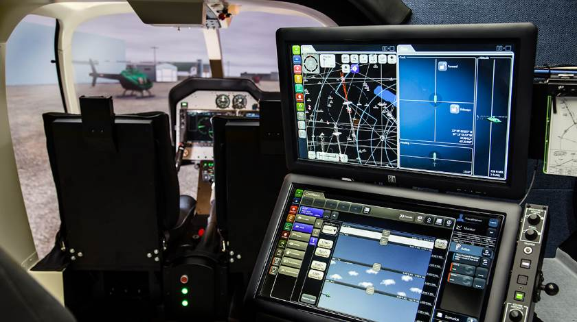 Frasca Bell 407 FTD