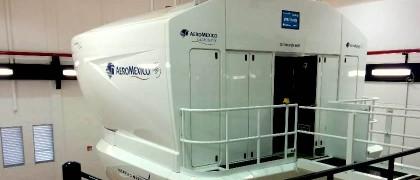aeromexico b787 simulator