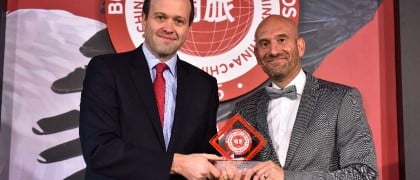 qatar-airways-vp-north-asia-paul-johannes-right-accepts-the-award-for-best-middle-east-airline-serving-china-at-the-2015-business-traveller-china-awards_22841884917_o