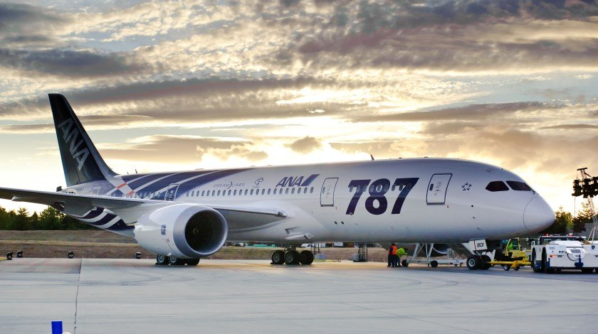 First 787 Delivery to ANA K65443-11