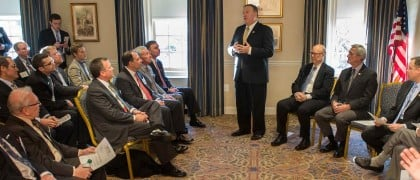 Aircraft Leaders meeting