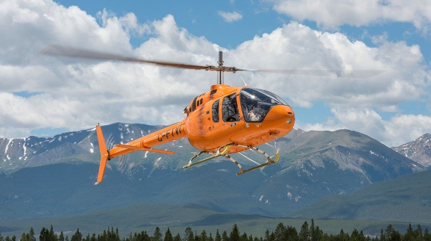 Bell helicopter 505
