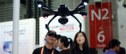 China and drones