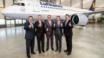 Lufthansa takes first a320neo