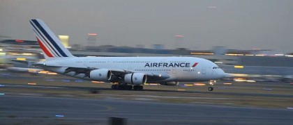 airfrance a380 in mexico