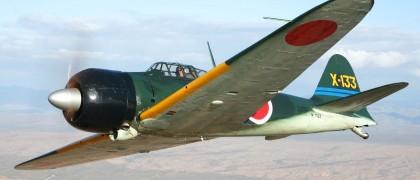 first zero flight japan