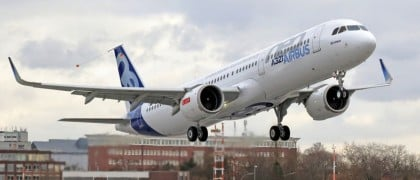 A321neo_CFM_engine_First_Flight_take_off