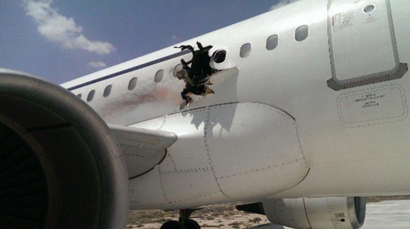 Daallo Airlines A321 explosion