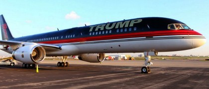 Donald-Trumps-private-jet