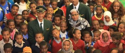 Ethiopian Airlines student