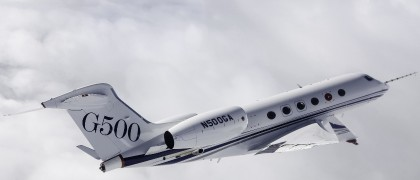 Gulfstream G500 Completes Flutter Testing