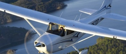 Indonessia flight school new Cessna