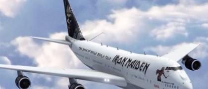 Iron maiden New Boeing