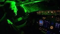 Lasers ban. Pilots problems