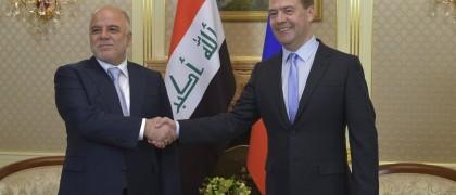 Russia Iraq military aid