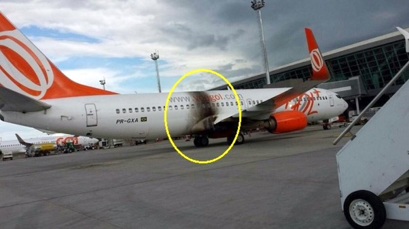 gol boeing 737 800 damaged by fire at brasilia aviation news
