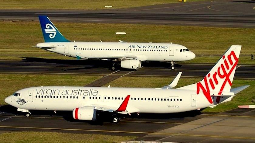 Air NZ & Virgin Australia