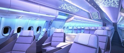 Airbus cabin brand Airspace by Airbus