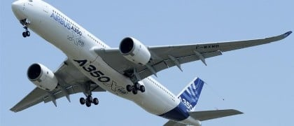 Airbus to Build 280-tonne MTOW A350-900