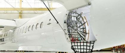 Bombardier Q400 cargo-combi