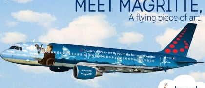 Brussels airlines Margaritte livery