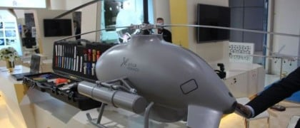 Chinas drone helicopter Sky Saker H300