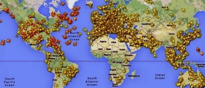 ICAO-aircraft-tracking