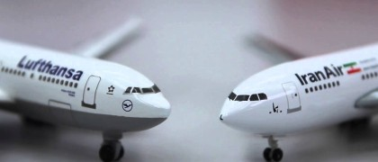 Lufthansa and Iran Air