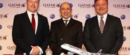 Qatar airways announces new routes in Berlin