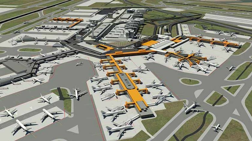 Schiphol airport expansion