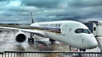 Singapore Airlines first A350