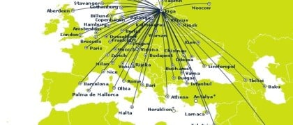 airBaltic summer destinations