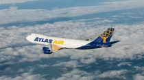Atlas air freighter