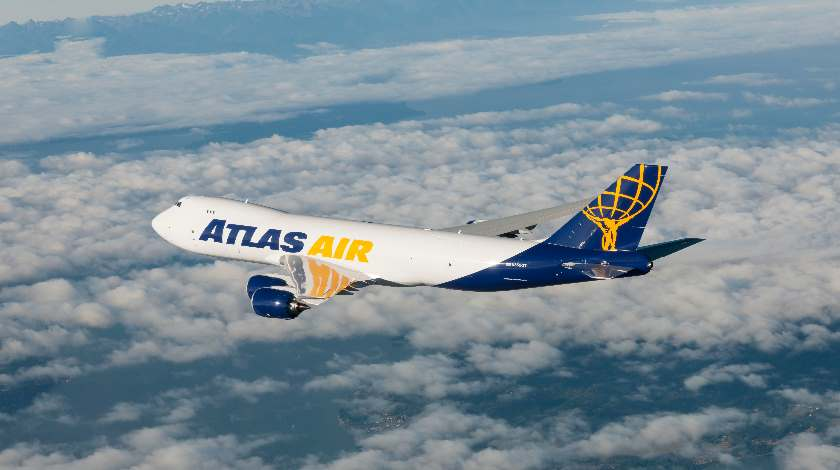 Atlas air freighter