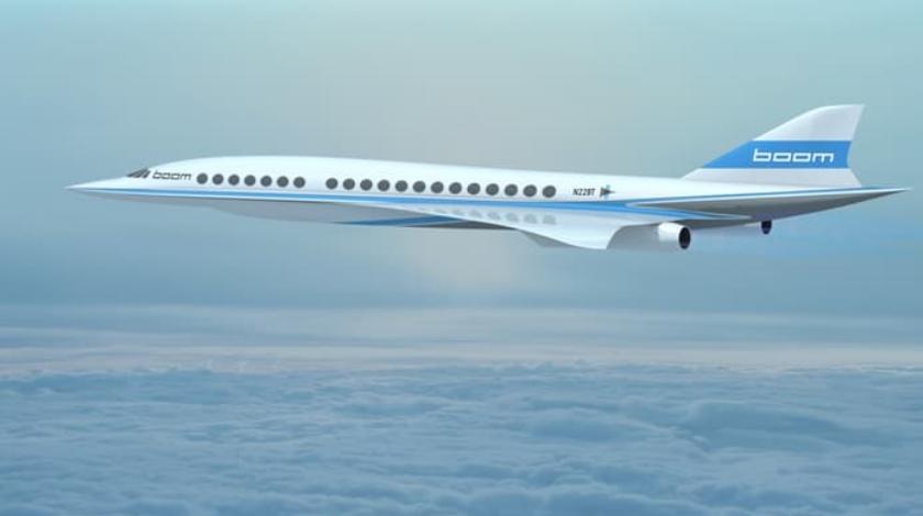 Richard Branson Backed Startup To Build Next-Gen Supersonic Airplane