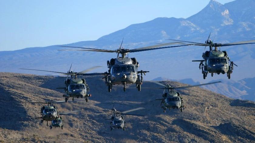 Seven Black Hawk Helicopters wowstudio_ca
