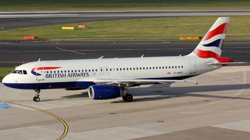 a320 british airways