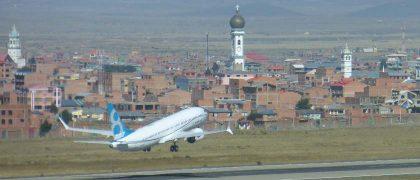 Boeing 737 MAX first international journey