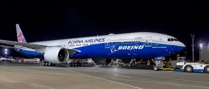 China airlines and boeing