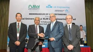 KLM UK Engineering and Nilai