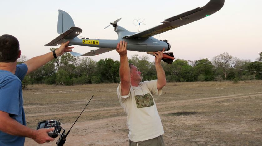 Drone hunt down poachers in South Africa
