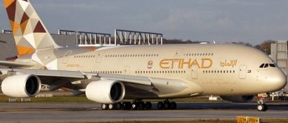 Etihad Introduces A380 on Melbourne Routes