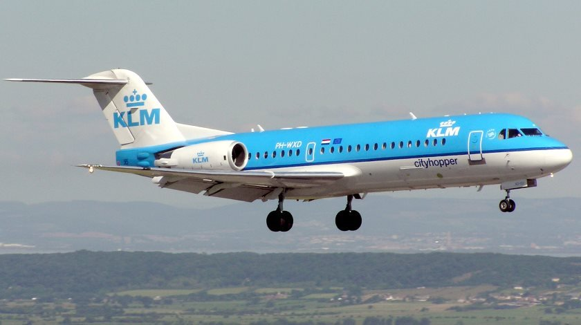 KLM Fokker 70 nl_wikipedia_org