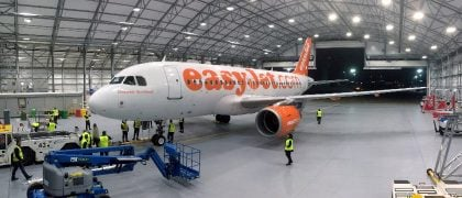 Lufthansa Technik's Partnership With EasyJet at London Gatwick Airport