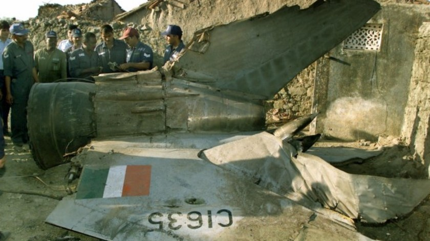 MiG-27 Aircraft Crashes Into House in Jodhpur; Pilots Escape Unhurt ibtimes.co.in