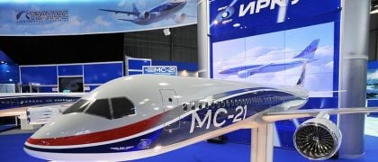 New Russian MS-21 Passenger Airliner to Be Showcased in Siberia