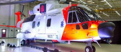 Norwegian All-Weather SAR AW101 Unveiled