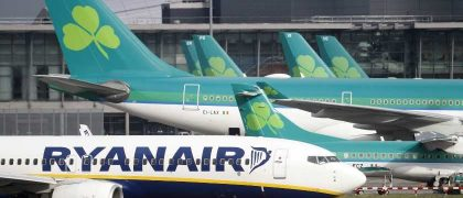 Ryanair, Aer Lingus cancel some flights between Ireland and France