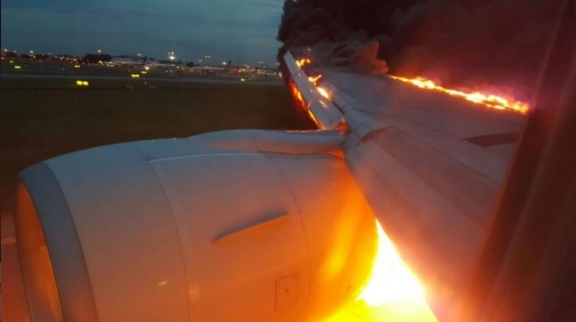 SIA Flight Catches Fire While Making Emergency Landing in Singapore