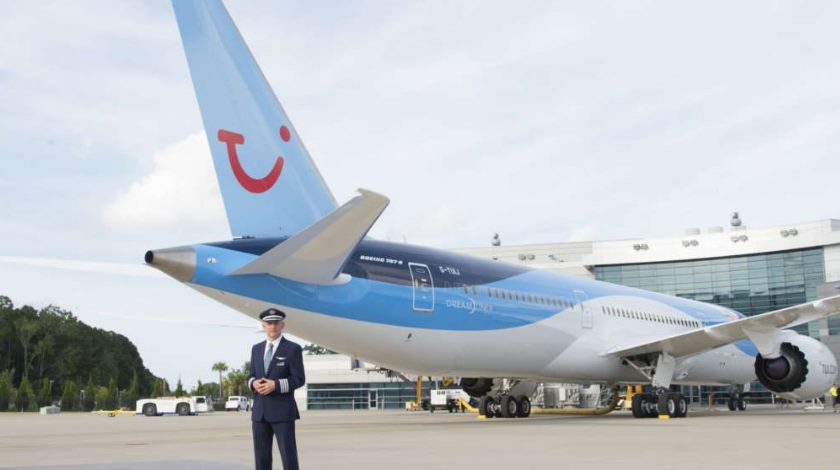 Thomson Airways Welcomes First 787-9 Dreamliner